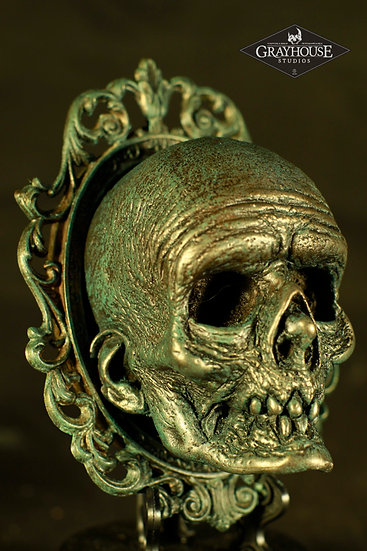 COLD CAST RESIN MORT WALL MOUNT WITH FRAME