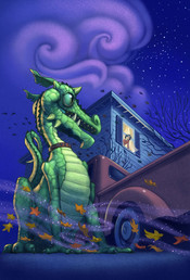 Dragon in the Driveway