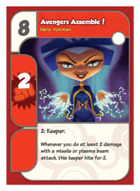 Super Hero Squad card