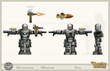 Super Hero Squad Concept
