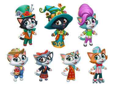 Kitty City characters