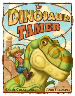 The Dinosaur Tamer cover