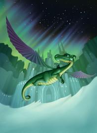 Dragon at the North Pole
