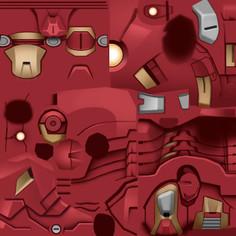 Super Hero Squad character texture