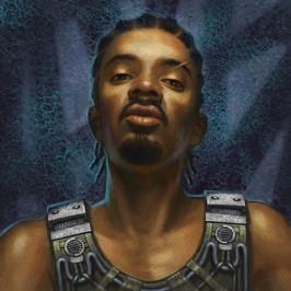Pilot Portrait- Mech Warrior