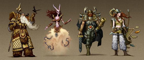 Mythica Norse Gods