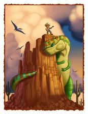 The Dinosaur Tamer interior page