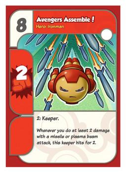 Super Hero Squad card
