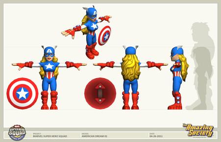 Super Hero Squad UV/texture