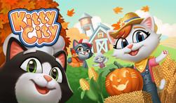 Kitty City title screen