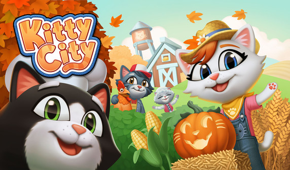 Kitty City title screen