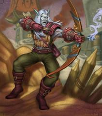 World of Warcraft card art