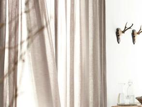 ไอเดียการตกแต่งบ้านด้วยผ้าม่านสีพาสเทล