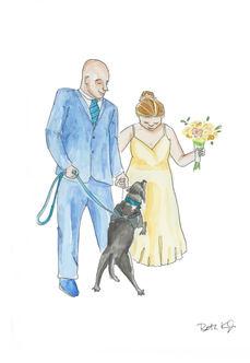 Custom Wedding Artwork