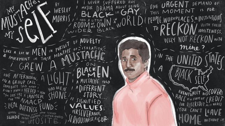 Wesley Morris: My Mustache, My Self