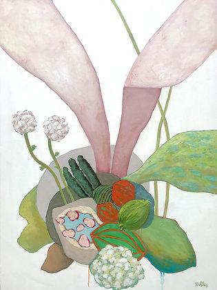 Pink Plant VII