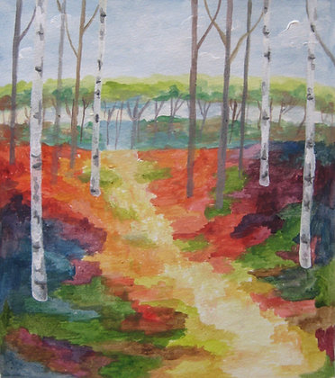 Colorful Aspens 3