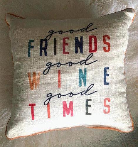Good Friends Pillow