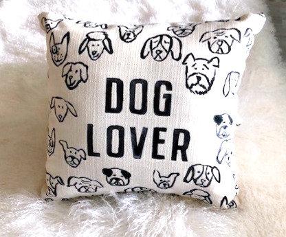 Dog Lover Pillow