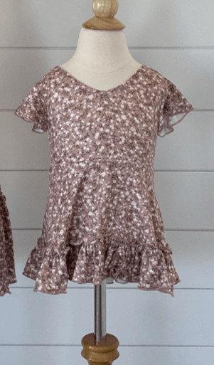 Baby Betsy Dress - Storybrook Brown