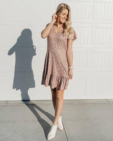 Betsy Dress - Storybrook Brown