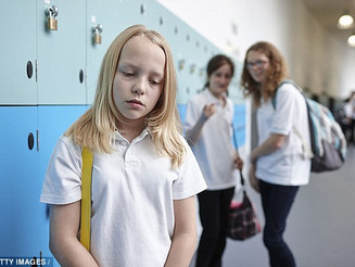 Were YOU bullied as a child? Why the effects could last a lifetime: Victims are 'twice as likely