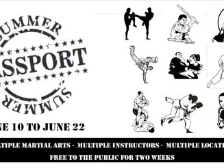 Free to the public: Passport to the World of Martial Arts