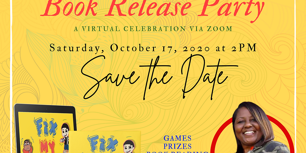 Angella's Book Release Party