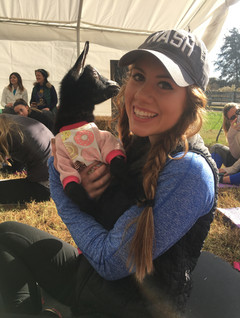 We had so much fun at goat yoga in Brentwood, TN!