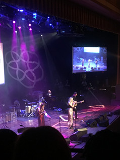 """Kelsea Ballerini singing her new song """"In Between"""" at the ASCAP Awards"""
