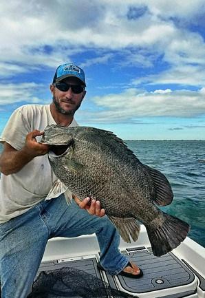 Deep sea fishing charter for tripletail