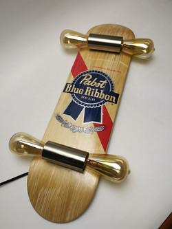Pabst Skateboard Lamp