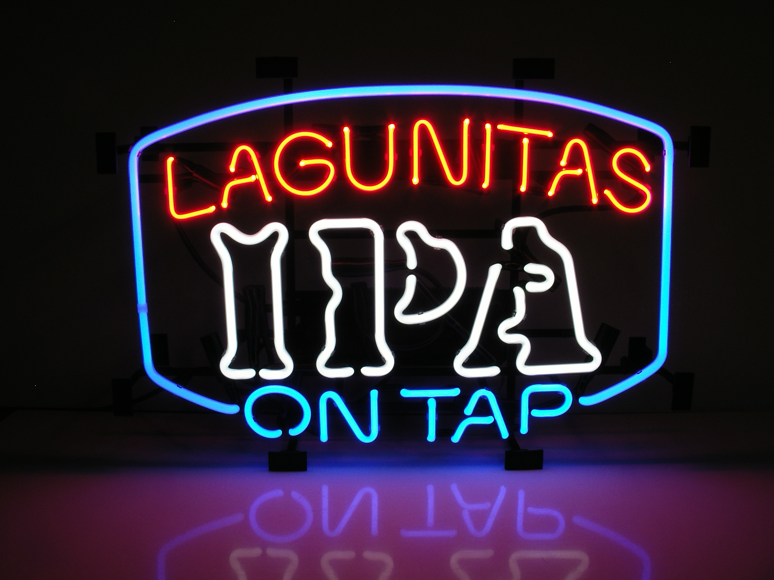 Lagunitas IPA on Tap Neon