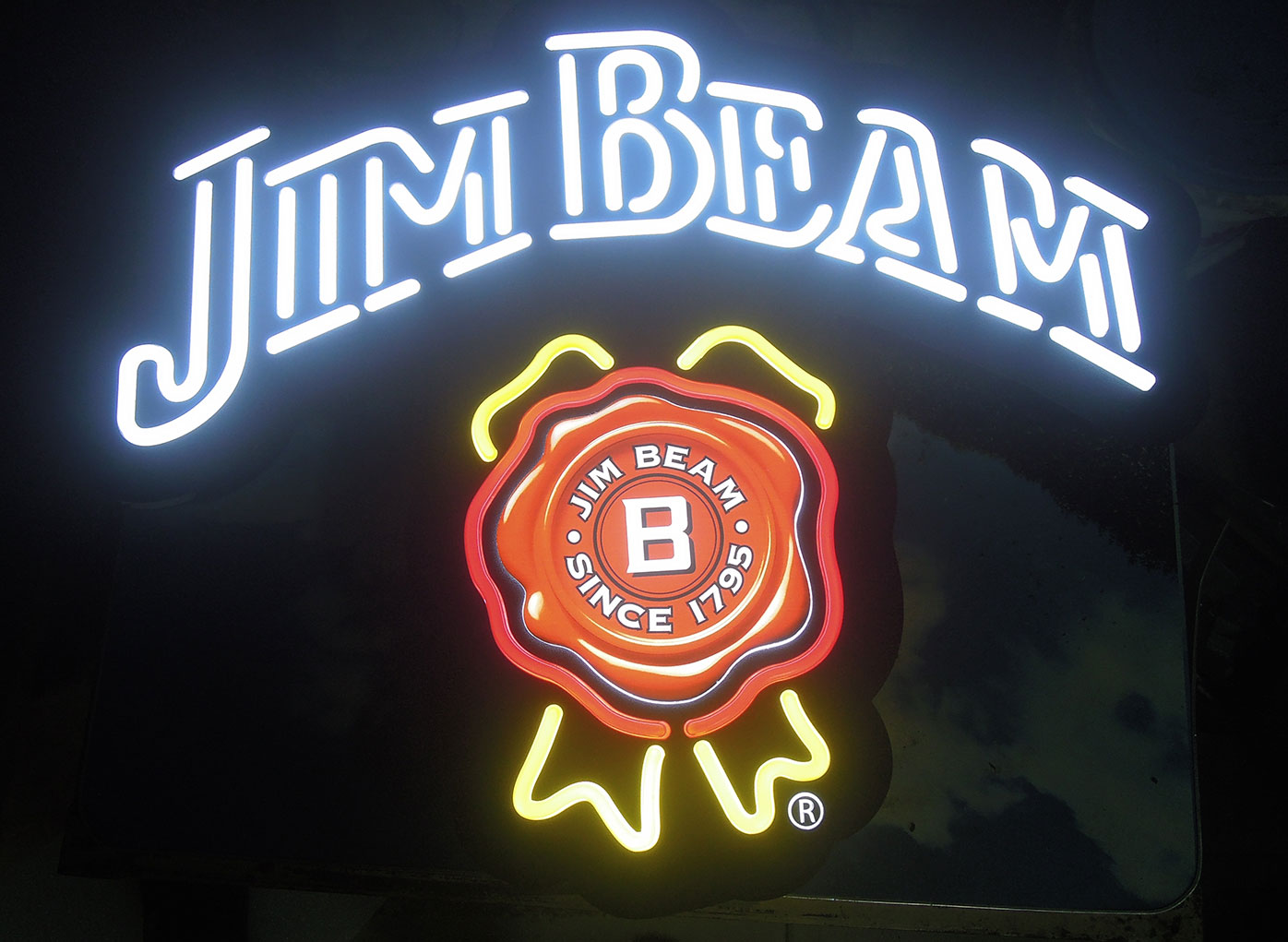 Jim Beam White LED
