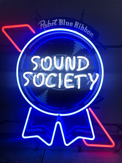 Pabst Sound Society Neon