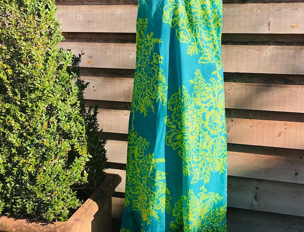 Lime Cotton Dress