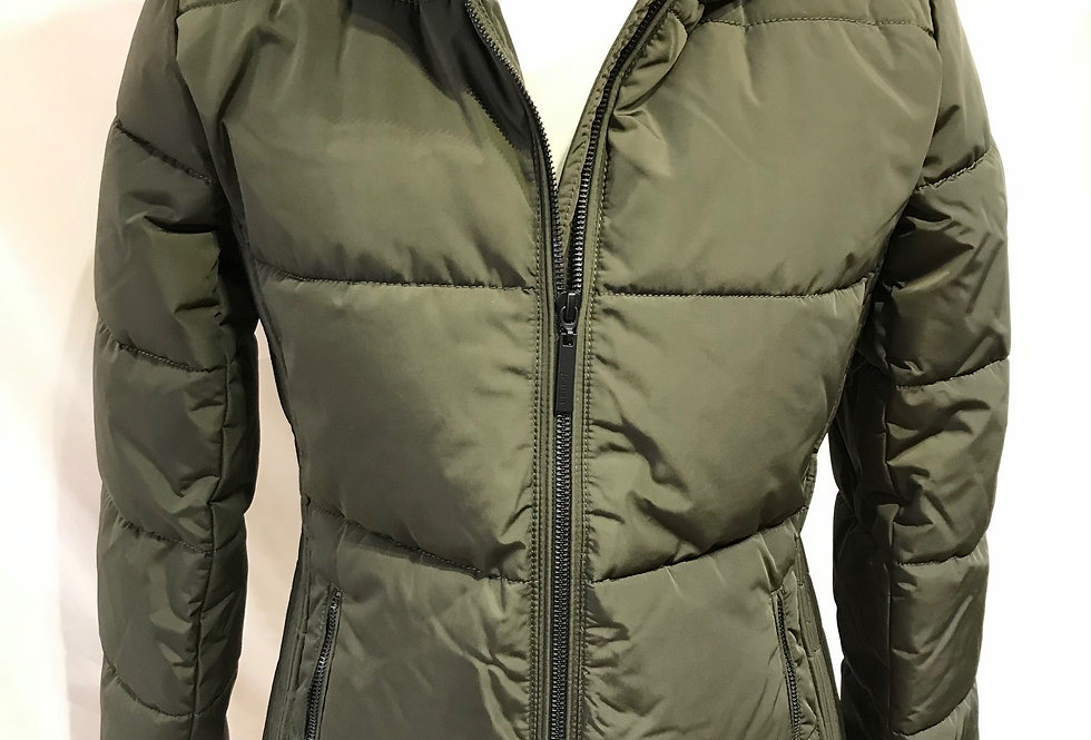 Olive Thick Padded Jacket