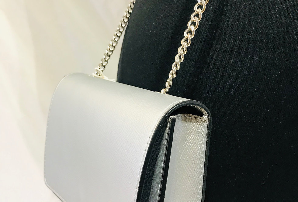 Small Silver Clutch