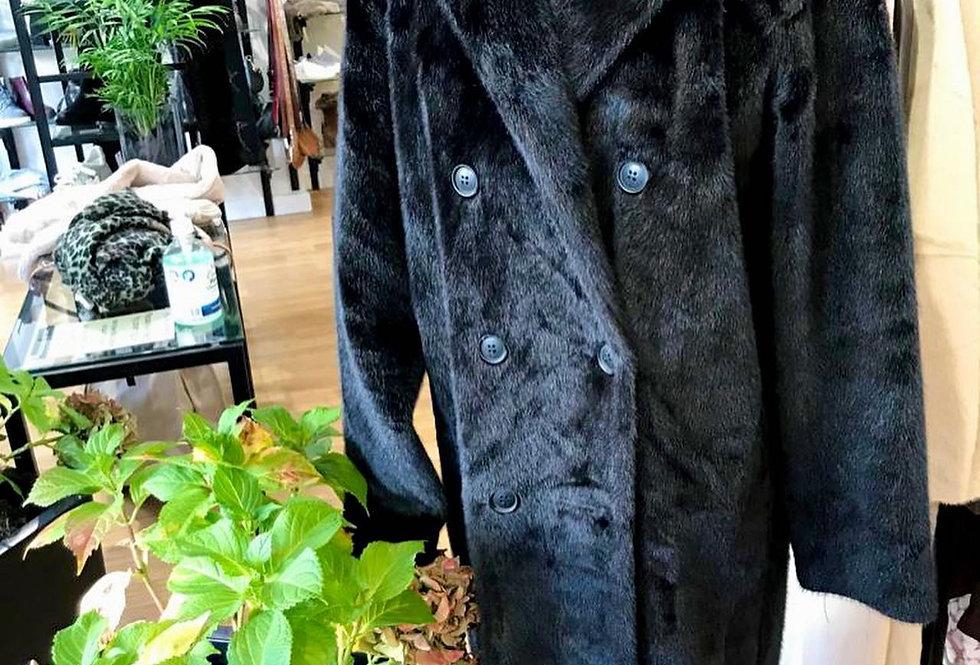 Beautiful Classic Black Winter Coat