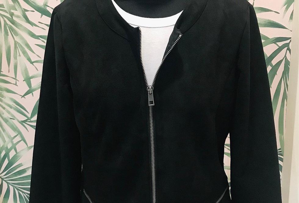 Black Faux Jacket