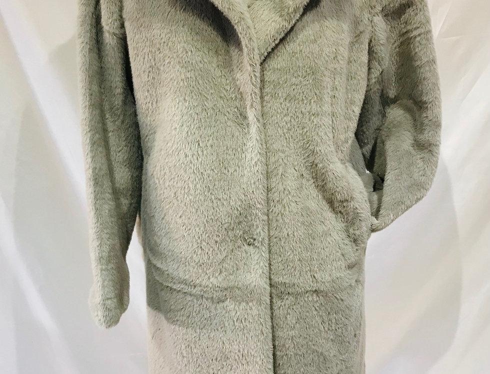 Greyish Fur Coat