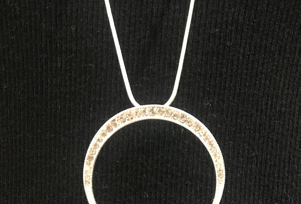 Diamante Silver Necklace