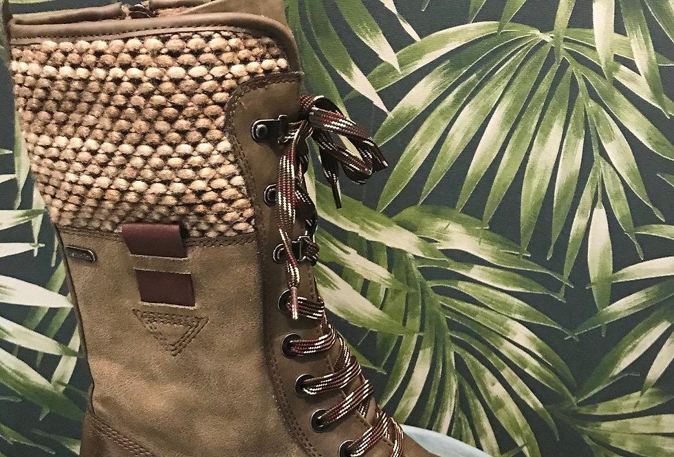 Kharki Lace Boot