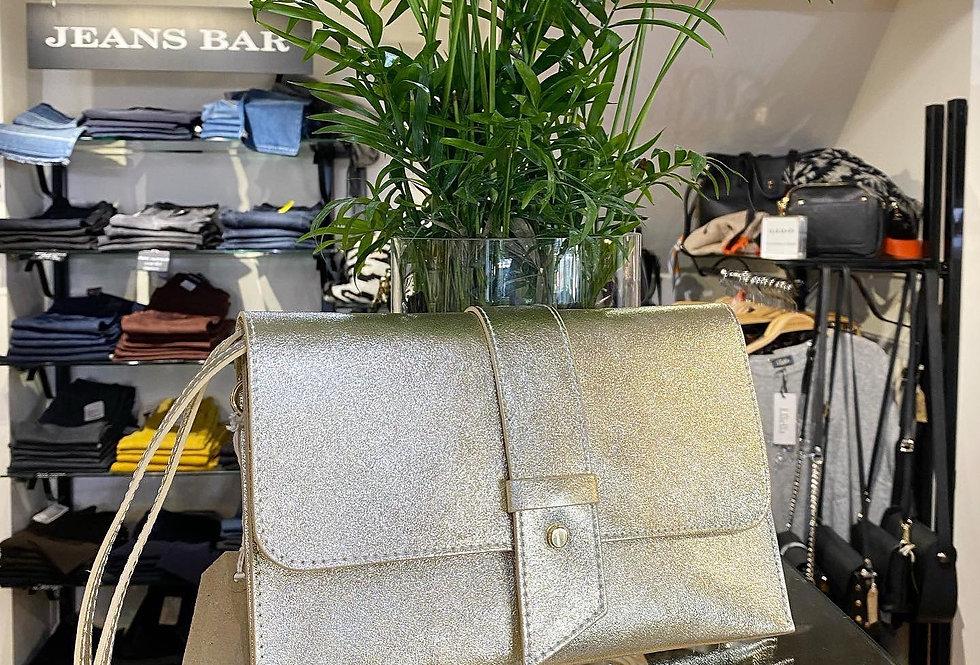 Silver Gold Envelope Bag