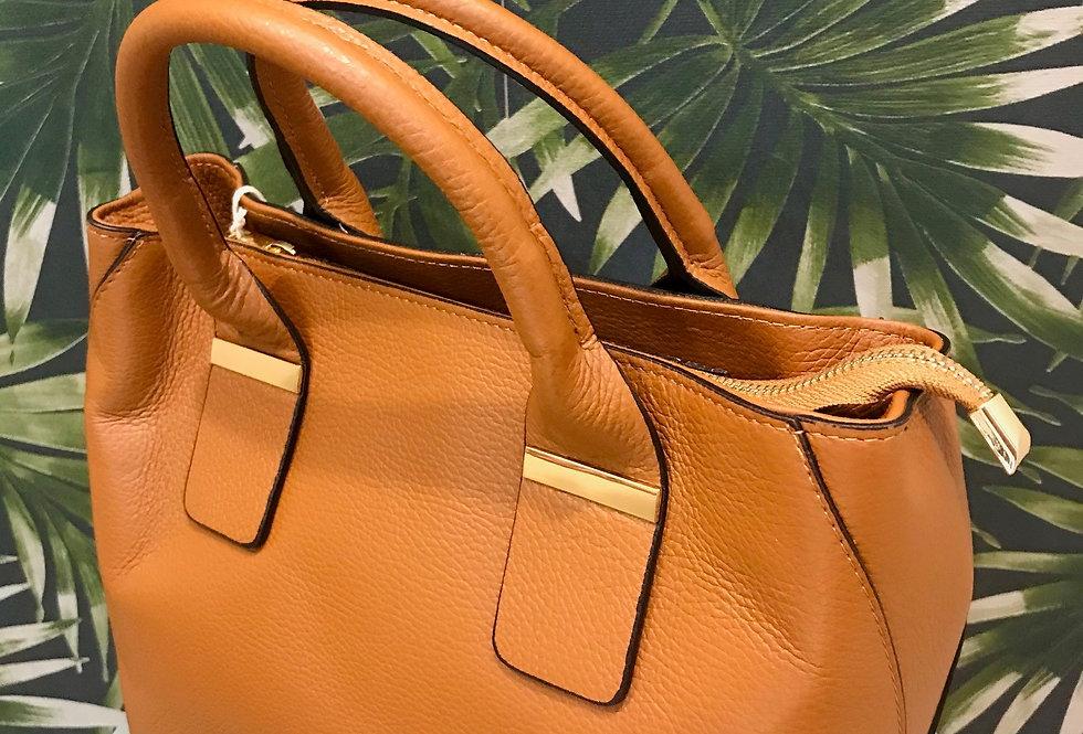 Brass Trim Bag