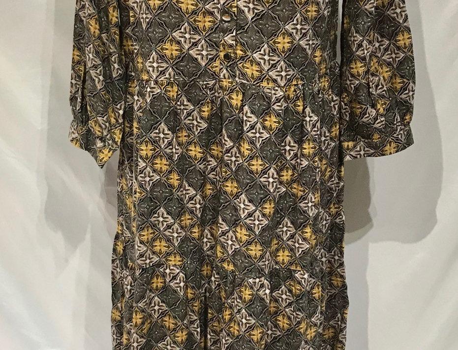 Long Pattern Dress
