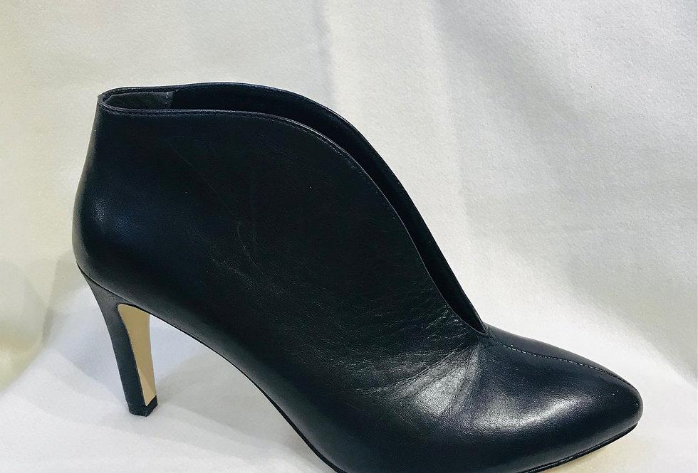 High Black Shoe