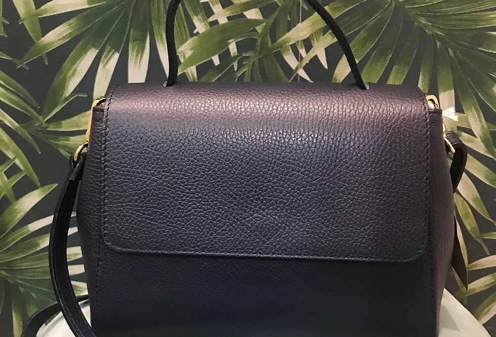 Leather Stiff Leather Bag