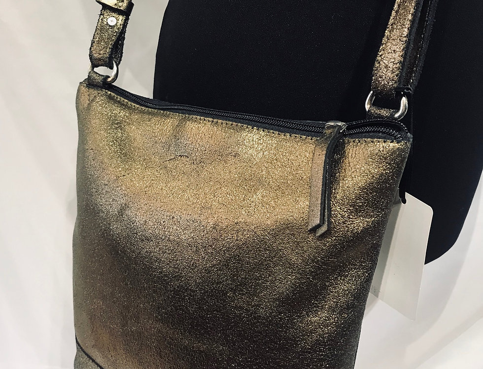Old Gold Post Bag Style