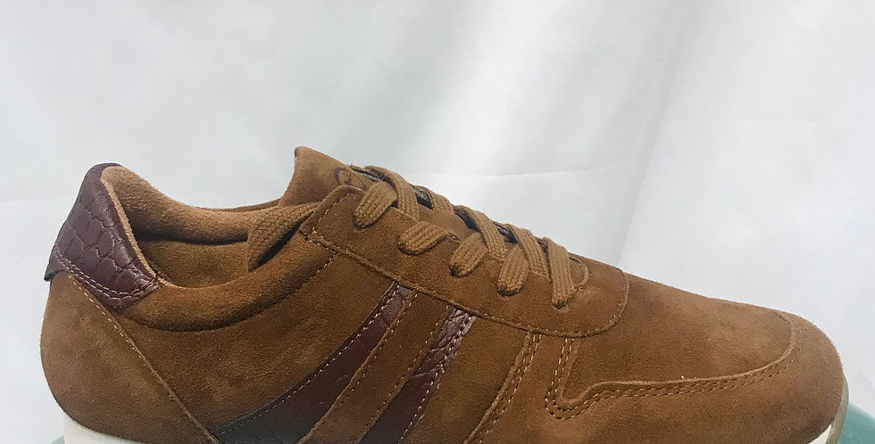 Tan Suede Trainer